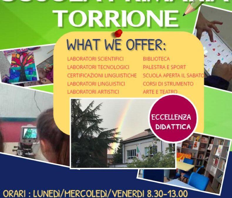 """OPEN DAY """"LA SCUOLA INCONTRA LE FAMIGLIE"""" SCUOLA PRIMARIA """"TORRIONE"""""""